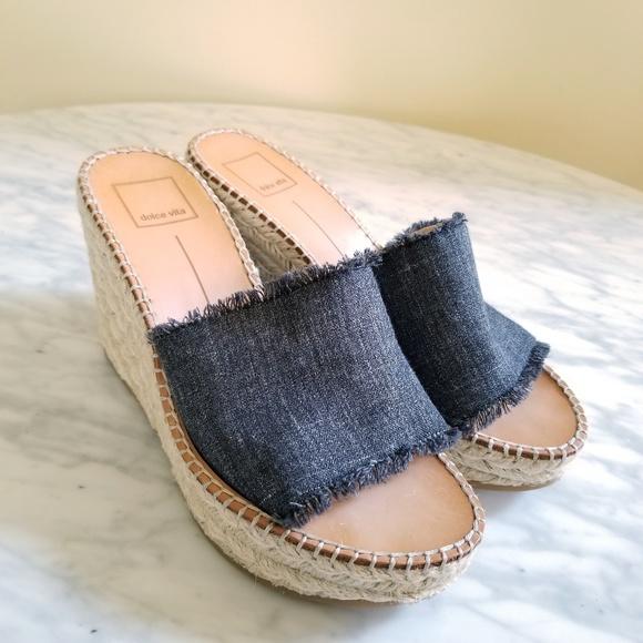 c27c990f78 Dolce Vita Shoes - Dolce Vita PIM Espadrille Wedge Sandal Black
